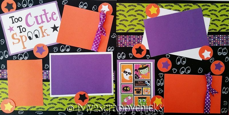 TOO CUTE TO SPOOK  page kit