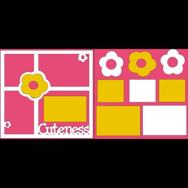 CUTENESS  -basic page kit