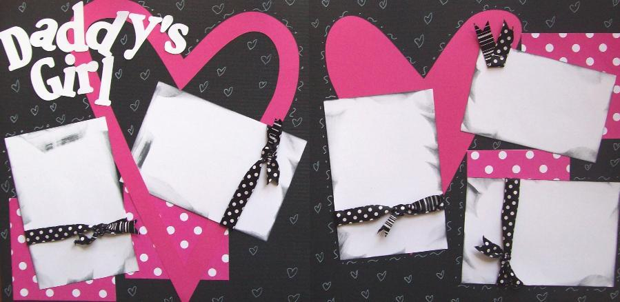 Daddy's Girl Page Kit