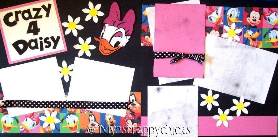 Crazy 4 Daisy Disney   --   Page Kit