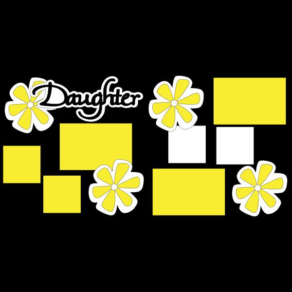 DAUGHTER -basic page kit
