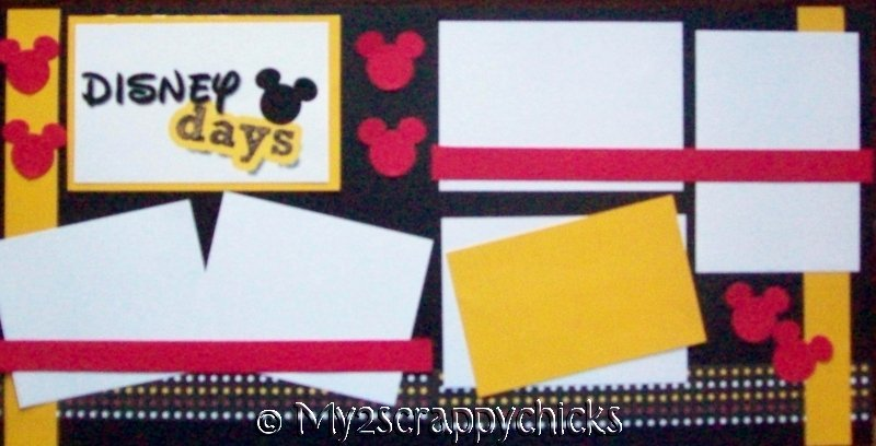 DISNEY DAYS   --   Page Kit
