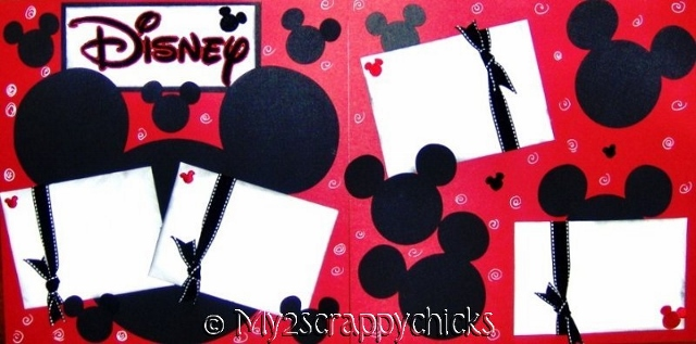 Disney Mickey Head Page Kit
