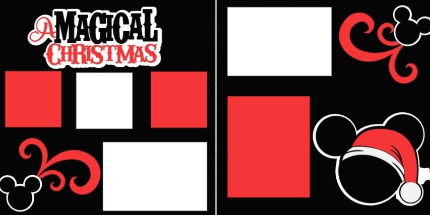 DISNEYS MAGICAL CHRISTMAS -  page kit
