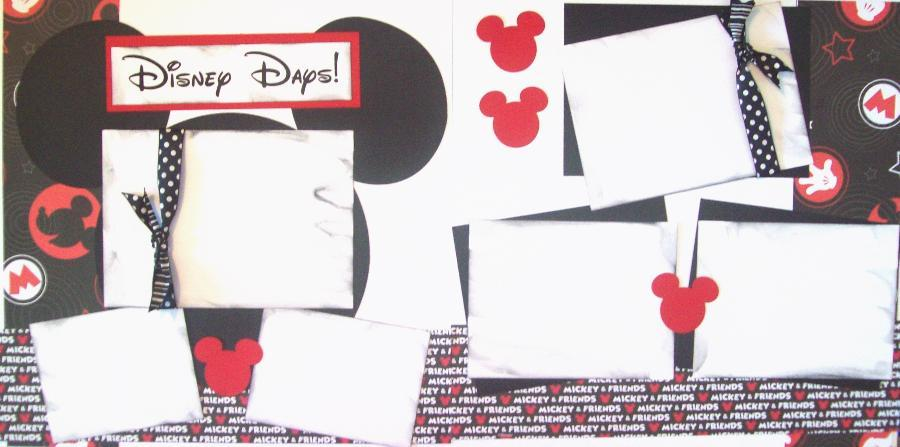 DISNEY DAYS PAGE KIT