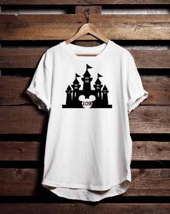 T-SHIRT DISNEY (CASTLE) 2018
