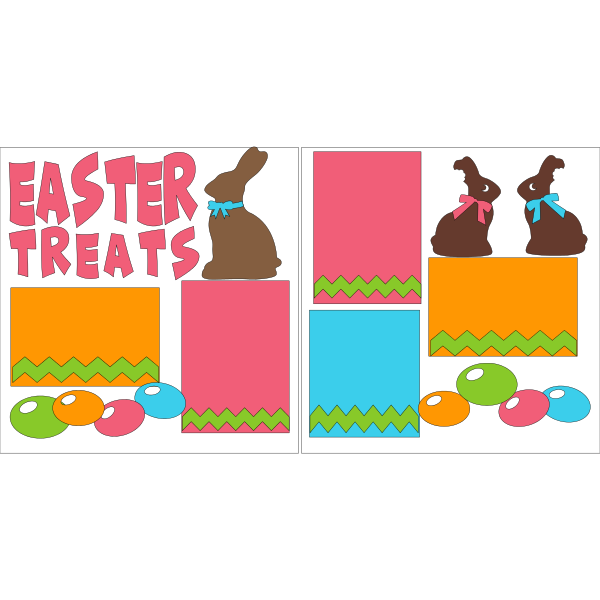 EASTER TREATS  -basic page kit