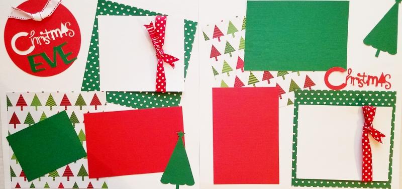 CHRISTMAS EVE  *  Page kit