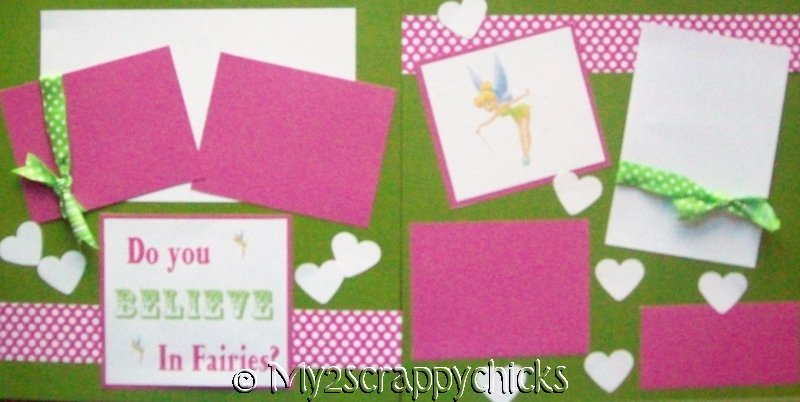 DO YOU BELIEVE IN FAIRES  DISNEY --  BASIC  Page Kit
