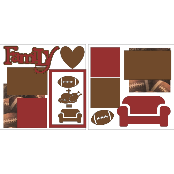 THANKSGIVING-FAMILY-TURKEY-FOOTBALL  -basic page kit