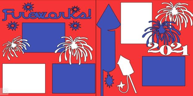 Fireworks 2021-  page kit