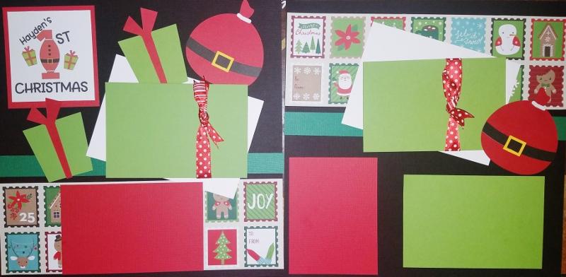 1ST CHRISTMAS - ***  Page kit*