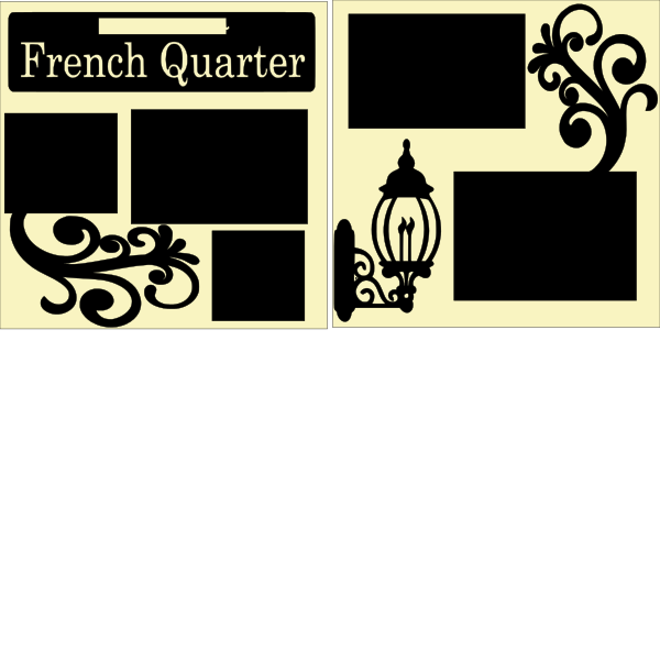 French Quarter New Orleans --  page kit