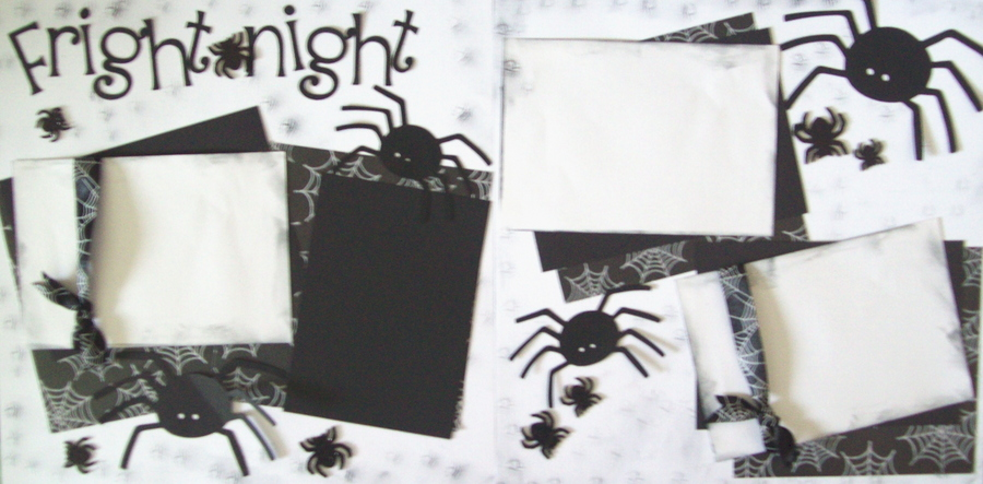FRIGHT NIGHT SPIDERS  page kit