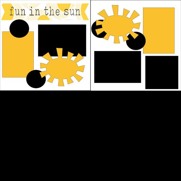 FUN IN THE *SUN  ... Page Kit