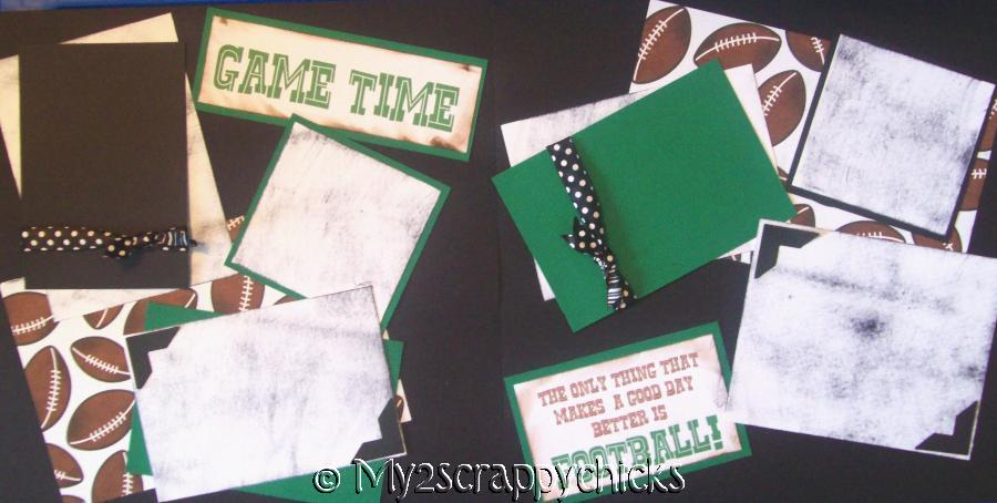 Game Time Football page kit
