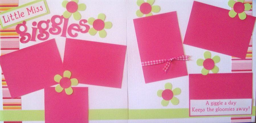 Little Miss Giggles   Page Kit