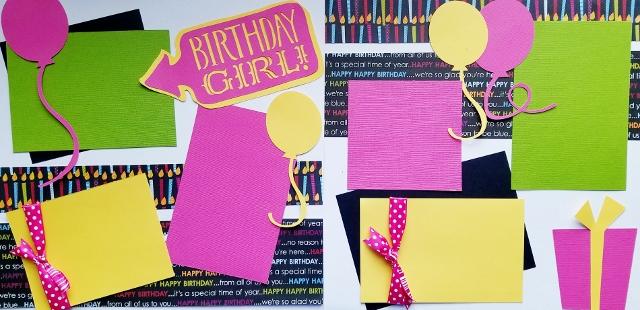 BiRtHDay Girl *  page kit