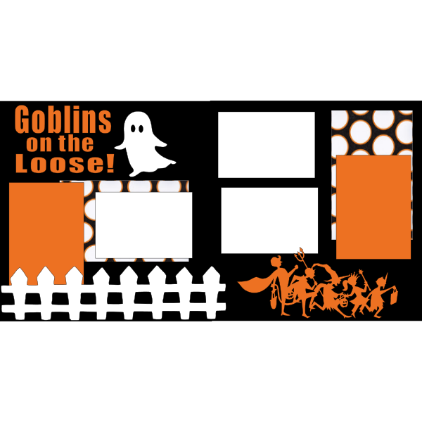 GOBLINS ON THE LOOSE -- -basic page kit