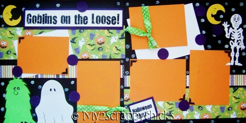 Goblins on the Loose  Page Kit