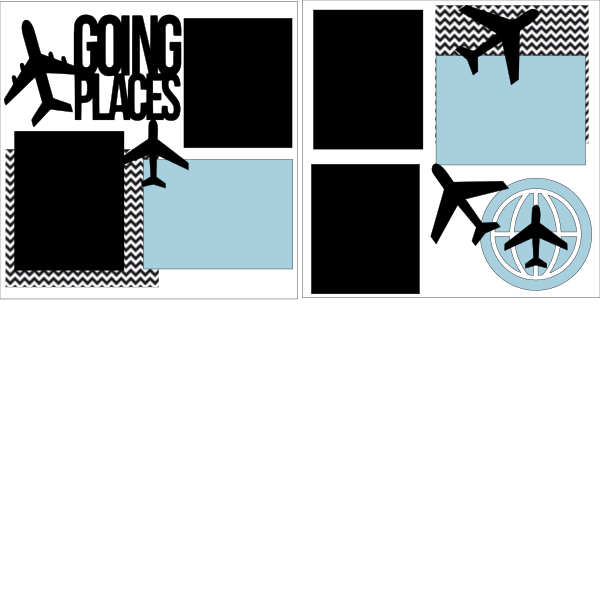 Going Places Travel --  page kit