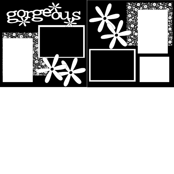 GORGEOUS  ... Page Kit