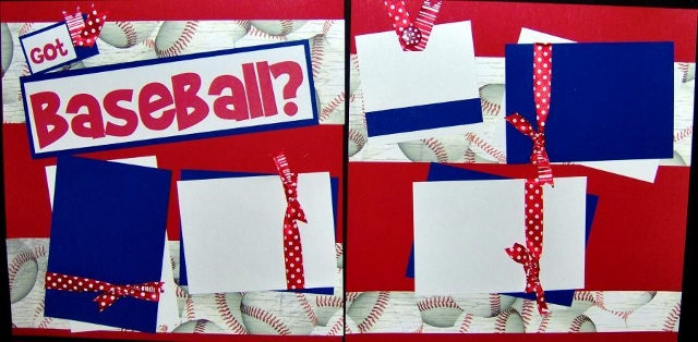 Got Baseball? Page Kit