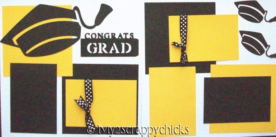 Congrats Grad Personalized!    - Page Kit