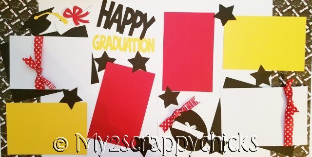 HAPPY GRADUATION  page kit