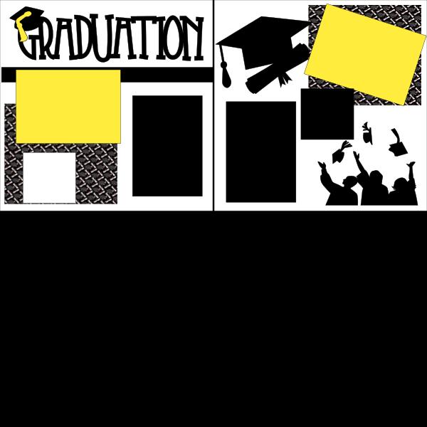 graduation ** page kit