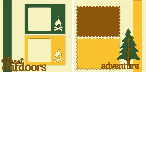 Great Outdoors --  page kit