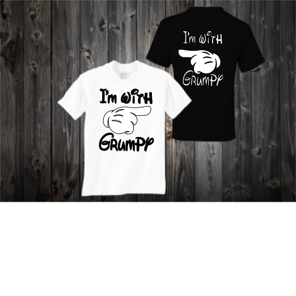 T-SHIRT I'M WITH GRUMPY
