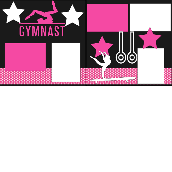 GYMNAST-GYMNASTICS   -basic page kit