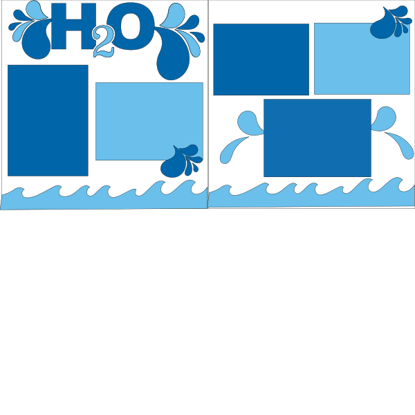 H20 SWIMMING-POOL WATER  -basic page kit