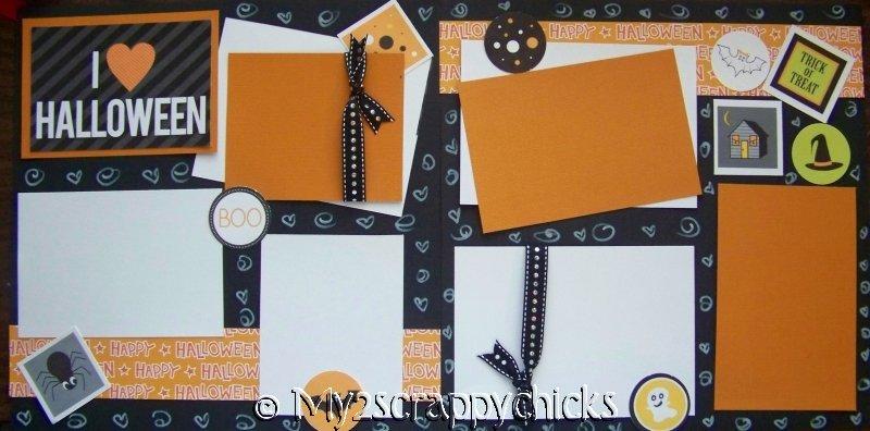 I Love Halloween -  Page Kit