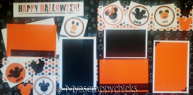 DISNEY HALLOWEEN page kit
