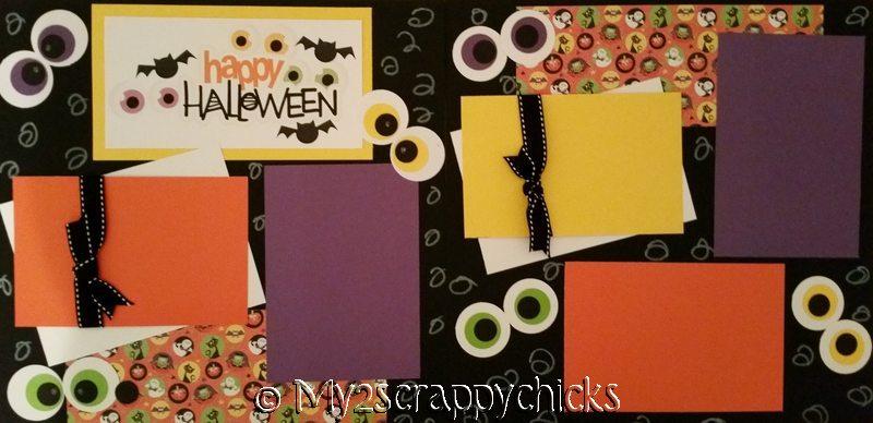 HAPPY HALLOWEEN *  page kit