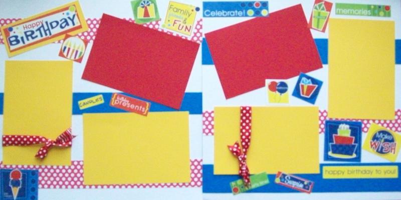 HAPPY BIRTHDAY PRIMARY --   Page Kit