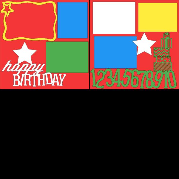 Happy Birthday  --  page kit