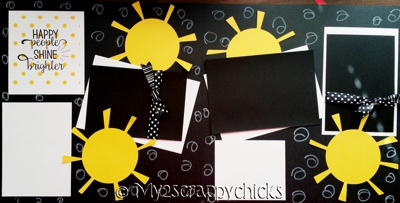 HAPPY PEOPLE SHINE BRIGHTER  --   page kit