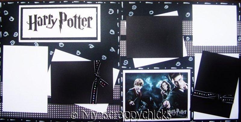Harry Potter Page Kit
