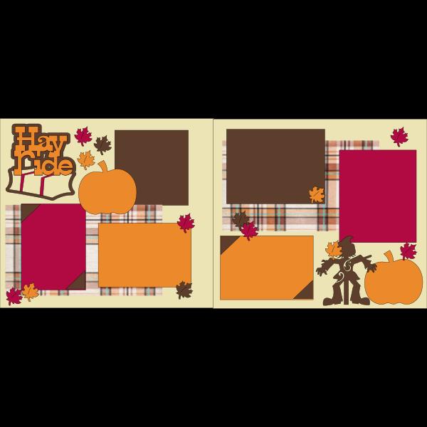 HAY RIDE  -basic page kit