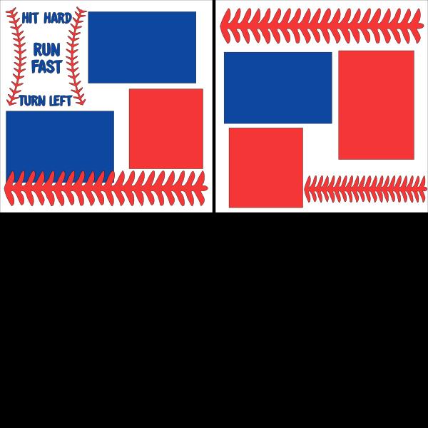 Hit hard baseball --  page kit