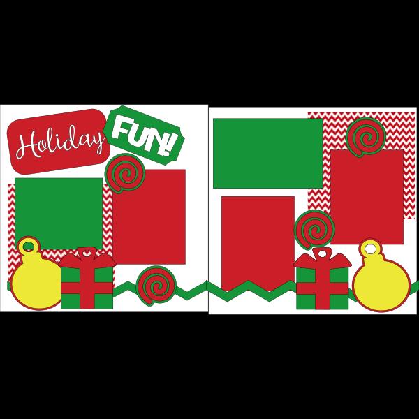 Holiday fun!   Page kit