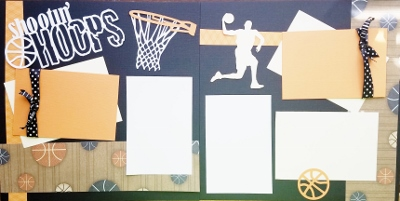 Shootin Hoops Basketball   page kit