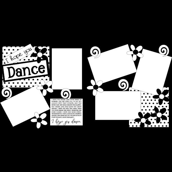 I Hope You Dance Page Kit