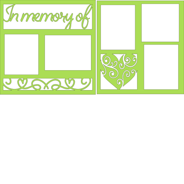 in memory of you overlay set