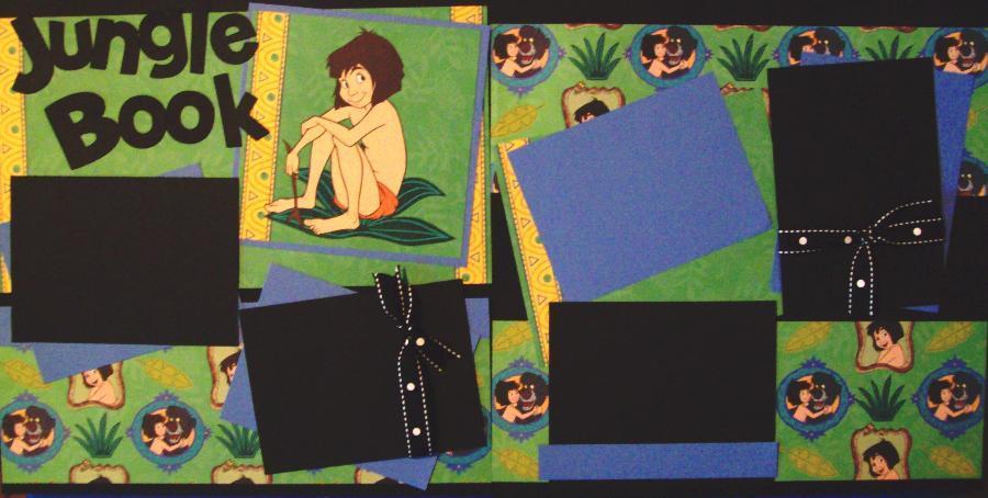 Jungle Book DISNEY page kit