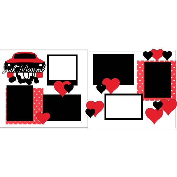 JUST MARRIED 2  -basic page kit