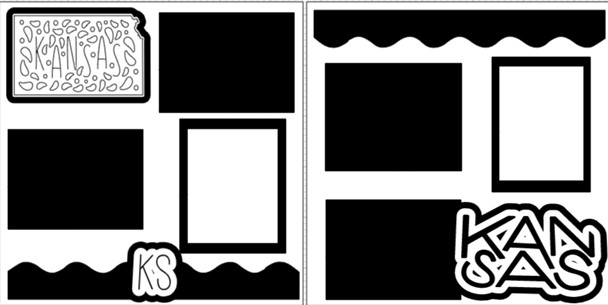 KANSAS  -  page kit